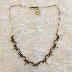 Pididdly Links Kingston N.Y. Dragonfly necklace